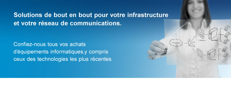 Solutions de communications et d'infrastructure