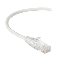 Câble patch CAT6 UTP Slim-Net, 28AWG, 250-MHz, PVC