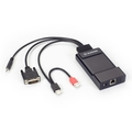 Emerald® Emetteur KVM sur IP DVI ZeroU - Single-head, HD, USB-HID, audio