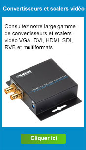 Convertisseurs et scalers video